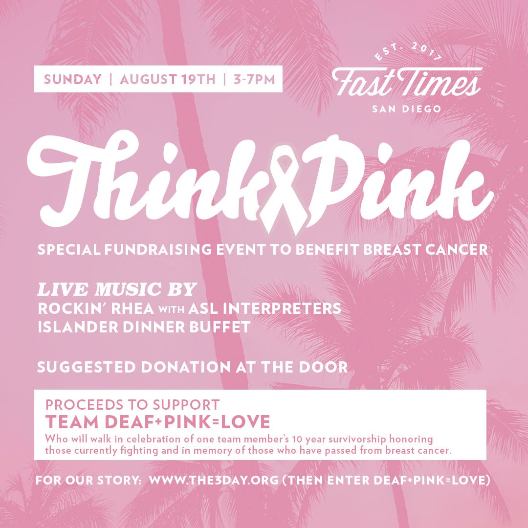 Think Pink Fundraiser | August 19th